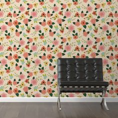 "Found it at Joss & Main - Lovely Lotus Removable 10' x 20"" Floral Wallpaper"