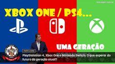 As reflexões do Professor João Roberto acerca da geração atual de consoles.  #XboxOneX #PlayStation4Pro #NintendoSwitch #VaoJogar #VideoGames #Games #InstaGames