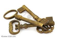 Old Japanese Keys.