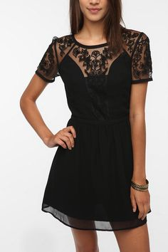 Kimchi Blue Emma Crepe Dress  #UrbanOutfitters