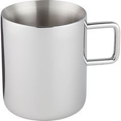 clink stainless steel mug    CB2 - buddy for the moscow mule mug