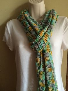 Summer Sands Scarf Free Shipping Summer Sale by KnittedWool, $60.00