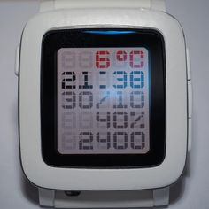 TTMMBRN watchface for Pebble Time, Pebble 2, Pebble Time Round, Pebble Watch