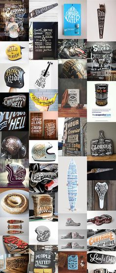 35 Inspiring Hand Lettered Designs on Every Day Objects