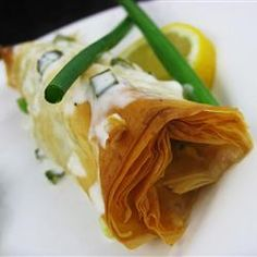 Phyllo-Wrapped Halib