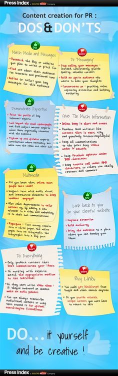 #Content Creation for #PR Love this infographic, which highlights key dos and don'ts - excellent reminder This is your chance to grab 100 great products WITH Master Resale Rights for mere pennies on the dollar! http://25-k-firesale.blogspot.com?prod=nKfhTL8u