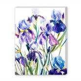 Found it at AllModern - 'Irises' Painting Print on Wrapped Canvas