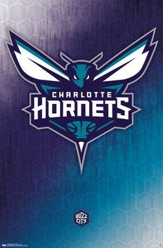 Charlotte Hornets - Logo 14 Poster at AllPosters.com