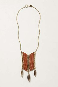 Anthropologie - Quilled Tiles Necklace