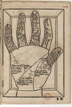 Titre :  Die Kunst Ciromantia  Auteur :  Hartlieb, Johann  Éditeur :  Jörg Schapf (Augsburg)  Date d'édition :  1490-1495  XYLO-41  Folio 293r