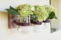 Rustic laboratory bud vase test tube bud vintage di BourbonMoth