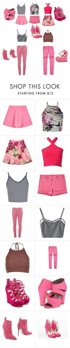 """""""Untitled #15"""" by tinkerbell1703 ❤ liked on Polyvore featuring RED Valentino, New Look, Love Moschino, T By Alexander Wang, Topshop, G1, ONLY, WithChic, River Island and Michael Antonio"""
