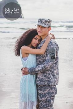 Military Love-Pacific City, OR #beach #couples #photos #love