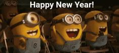 10 New Year 2020 Animated Quotes To Celebrate The New Year - Outfit-Celebration-Knitting-DIY Happy New Year Minions, Happy New Year Gif, Work Motivational Quotes, Work Quotes, Minion Gif, Youtube Videos For Kids, Best Photo Background, Rock Concert, Animation