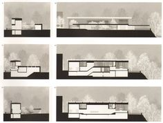 Peter Zumthor - House and Studio, Haldenstein Chur Grisons Switzerland Chinese Architecture, Architecture Drawings, Ancient Architecture, Sustainable Architecture, Architecture Plan, Architecture Details, Landscape Architecture, Landscape Design, Coupes Architecture