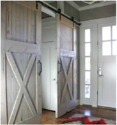 how to use and old door as a barn slider | Gorgeous Barn Doors – Interior Sliding Doors