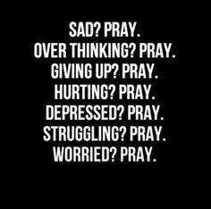 HAPPY? PRAY.  :)