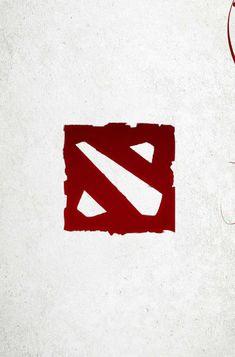Red Logo, Dota 2, Symbols, Letters, Games, Logos, Tattoos, Tatuajes, Icons