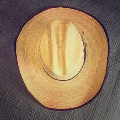 """Jason Aldean Palm Straw Cowboy Hat Calling all you country boys and girls. You won't want to miss out on the Hicktown from Jason Aldean Collection by Resistol. Its a sure hit while chillin on the boondocks in the hot summer sun. Jason himself wears this hat during concerts and to the country music award shows.  Mexican Palm Straw  * 3"""" Crown, Gus profile JA  * 4 1/8"""" Bound Brim  * Leather Hatband Accessories Hats"""