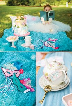 Mad Hatters Alice in Wonderland Tea Party.  #AliceInWonderland #Lady´sParty