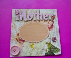 Handmade Mother's Day Cards