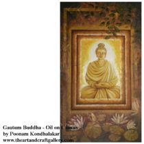 Dhyanastha Buddha  By Poonam Kondhalakar  Buy this from The Art and Craft Gallery