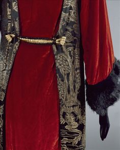 """Manteau de grand soir """"Sésostris"""", Paul Poiret   Palais Galliera   Musée de la mode de la Ville de Paris"""