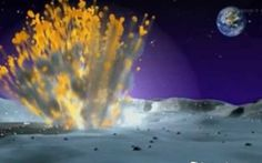 Nasa captures the moment a meteor collides with the Moon - Telegraph