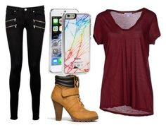 """""""day out"""" by carenza-spence on Polyvore featuring Paige Denim, James Perse, Zero Gravity and Soda"""