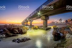 Early morning sunrise at Shark Rock Pier in Port Elizabeth South. Port Elizabeth, Morning Sunrise, Image Now, Early Morning, Shark, Royalty Free Stock Photos, Rock, Website, Nature