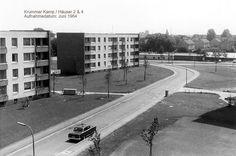 1964 Hamburg - Eidelstedt, Krummer Kamp 2 und 4. Aufnahme kurz nach dem Fertigstellen der Häuser. (Foto: KaPe - Panoramio) ☺