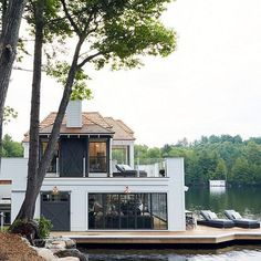 A lake house to retire in would be the ultimate goal