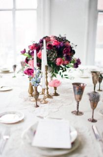 looks a lot like what we are planning... // Downton Abbey Styled Shoot