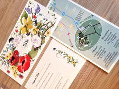 Br&newweddings / Bespoke Wedding Stationery / Floral Wedding / South African Wedding / Shabby Chic Wedding / Wild Meadow Wedding / www.brandnewweddings.co.uk