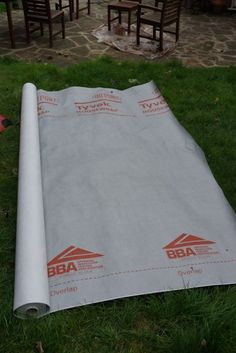 Tyvek Ultralite Groundsheet/Footprint/Tarp By The Metre. 2.8M Wide. 63G/Sq.M