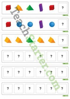 Pattern Activity Cards – Shapes