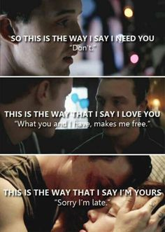 This is the most intensive relationship I've ever seen on TV. #gallavich is true love thank you