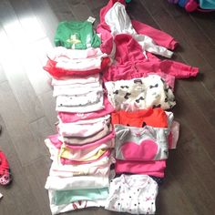 Bundle of onesies and shirts Bundle of onesies and shirts Other