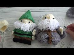 Wizard and Gnome Part 1 rows 1-11 - YouTube