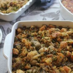 New Orleans Oyster Dressing - Kick it up with this NOLA-style dressing your family will love.