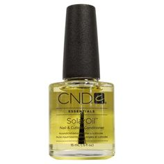 Called a ''manicure in a bottle'' this blend of three natural oils and vitamin E serves double duty as both a nail strengthener and conditioner as well as a cuticle softener. Cuticle Care, Nail Cuticle, Cuticle Oil, Nail Care, Creative Nail Designs, Creative Nails, Natural Essential Oils, Natural Oils, Ongles