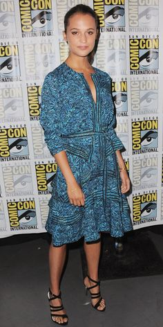 Alicia Vikander's Red Carpet Style - In Proenza Schouler, 2015 - from InStyle.com