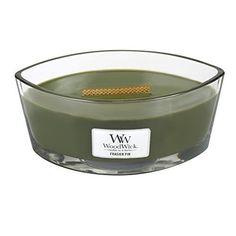 Woodwick Hearthwick Flame 16 Oz. Candle - Frasier Fir