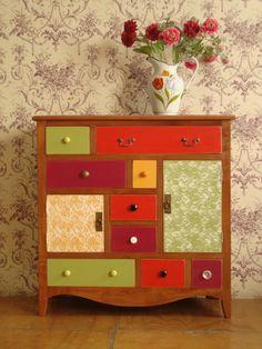 Mueble colores Bazar de la Fortuna