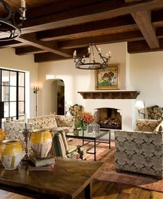 65 Best Spanish Tuscan Mediterranean Interior Design Images