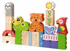 EverEarth Eco Amazon Building Blocks Wooden