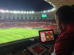 S.C Internacional coaches box view