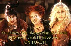 Hocus pocus! My favorite quote from the movie!