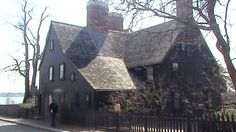 House of the seven gables in Salem,  MA