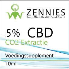 CBD 5% CO2 Extractie